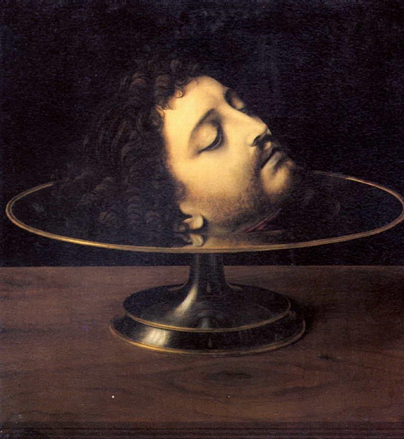 можете вычислить: батиста оторванная голова на тарелке только спа